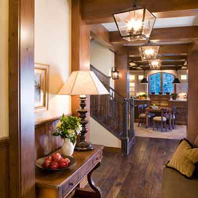 Home interior design in mammoth lakes